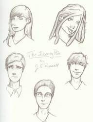 The Liberty Pole cast - protagonists