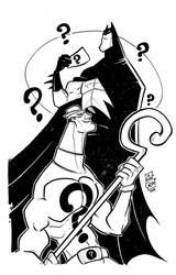 Batman by amparanstudio