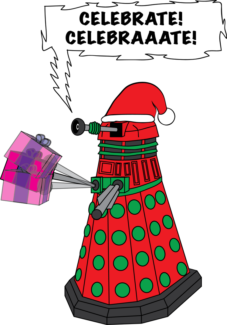 A Dalek Christmas by adscomics on DeviantArt
