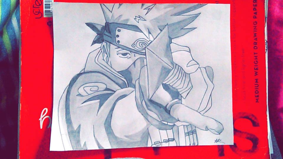 Kakashi by dreamgirl107