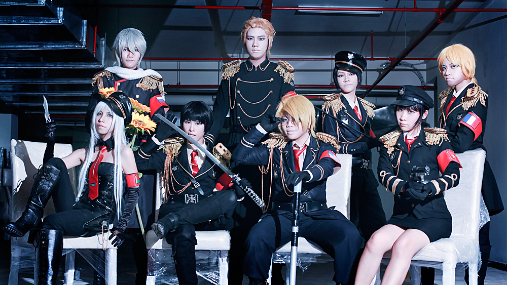 [FFBs] Black Hetalia by mellysa