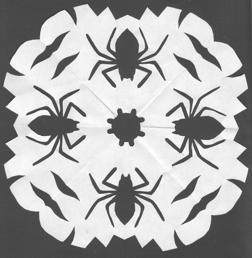 Spider Snowflake by Nik-Wolf1111 on DeviantArt