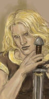 Glorfindel - a bookmark by Maureval