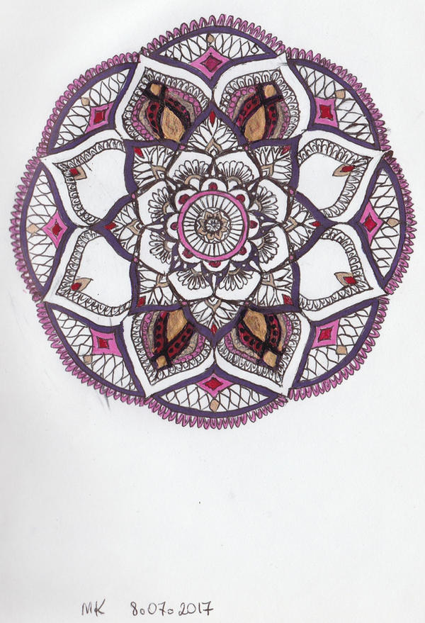 Mandala 3 by Maureval