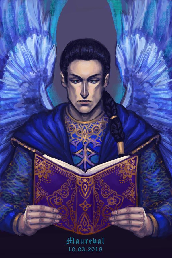 Archangel Raziel by Maureval