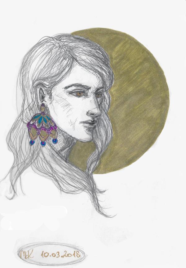 Random sketch by Maureval