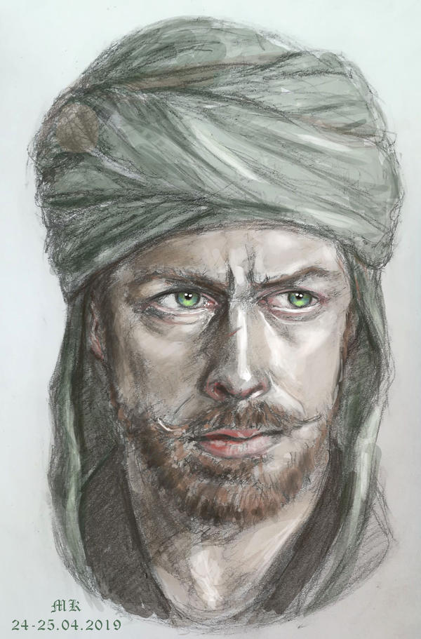 Captain Flint in colour by Maureval