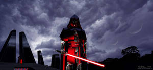 Star Wars : The Sith Knight by WesternWanderer