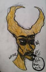 Wayne...Moon man by AtomiicFanta