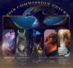 COMMISSIONS CLOSED APRIL