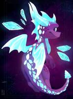 Ice Spyro by Deviant-Soulmates