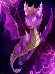 Dark Mirror Spyro by Deviant-Soulmates