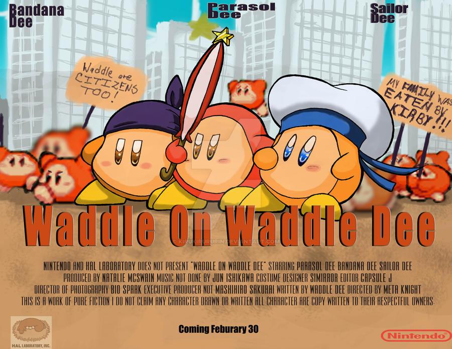 Waddle On Waddle Dee by Kirukirururin