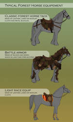 Forest horse equip by WoC-Brissinge
