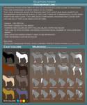 Kelephan ponies breeds - Highborne by WoC-Brissinge