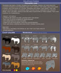 Kelephan ponies breeds - Diggere by WoC-Brissinge