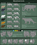 Mountain Cats - Reference sheet by WoC-Brissinge