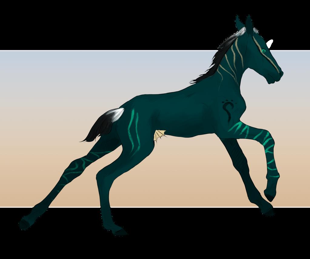 Nagian foal 3