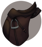 Crafted: Rinitos saddle by WoC-Brissinge