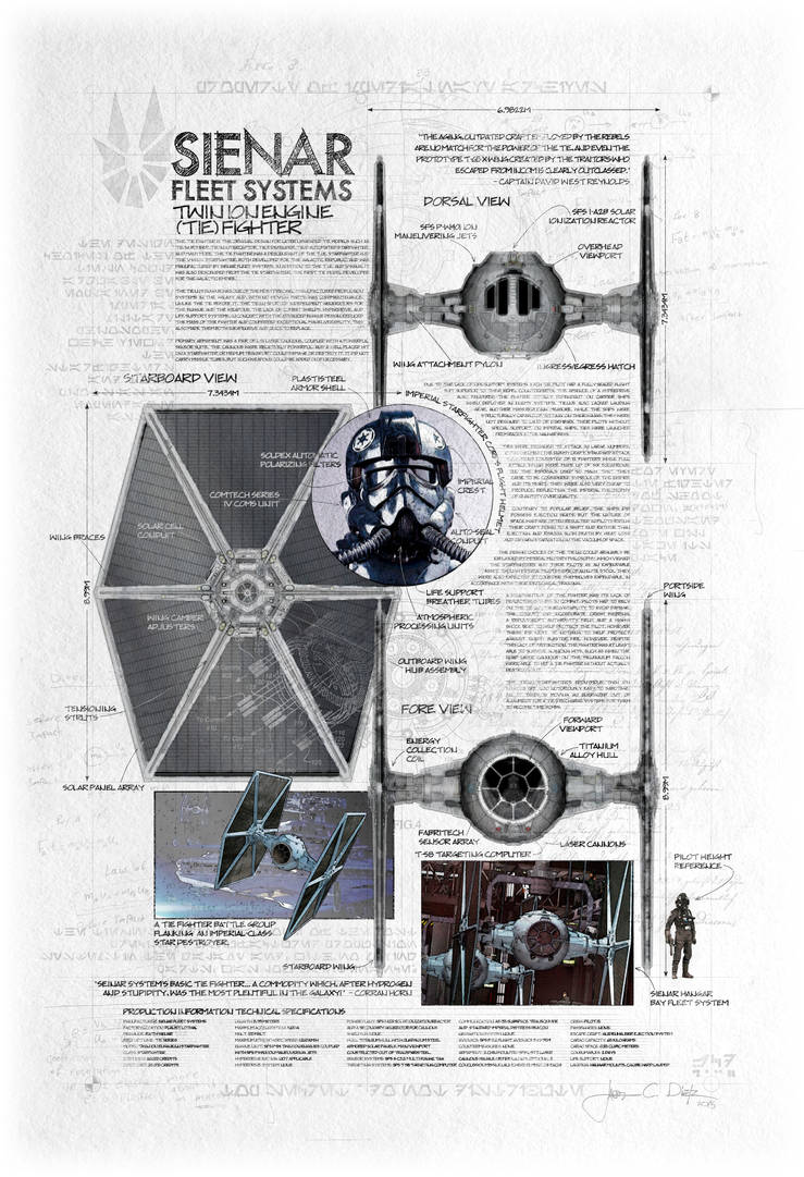 Twin Ion Engine  Tie  Fighter By Jacobcharlesdietz On