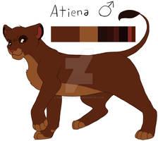 Atiena (TLK sona) Reference Sheet