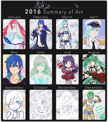 2016 Art Summary by syo-time