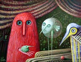 In Magic Theatre by FrodoK