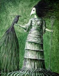 Woodwoman II by FrodoK