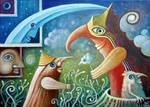 In Magic Garden III by FrodoK