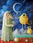 Woodman and Steppenbirds