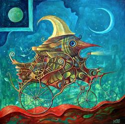 Night Ride by FrodoK