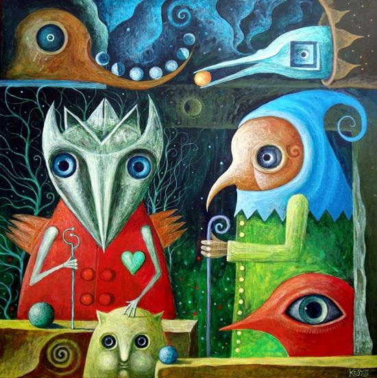 Guardians of Forgotten Sky by FrodoK