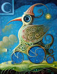 Crazy Cyclist IV by FrodoK