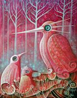 Magic Birds III by FrodoK