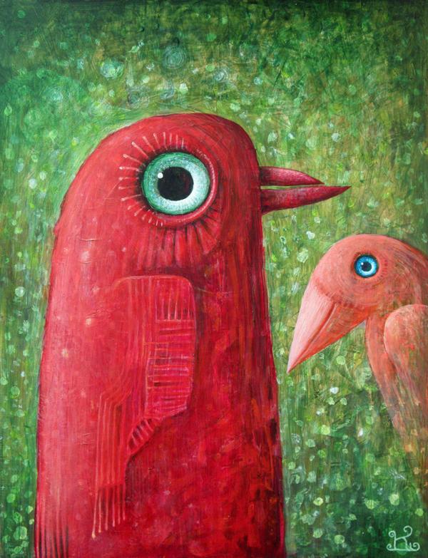 Birds IV by FrodoK