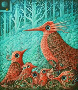 Magical Birds VIII by FrodoK