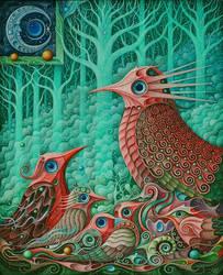 Magical Birds IX