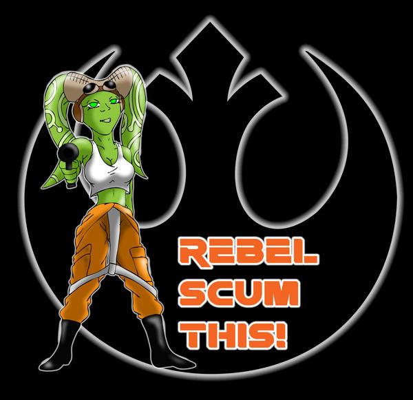 Hera Rebel Scum This by DanH-Art