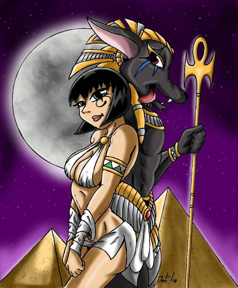 Mummy Prequel Dark Pact by DanH-Art