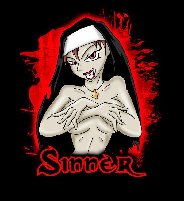 Vampy Sinner by DanH-Art