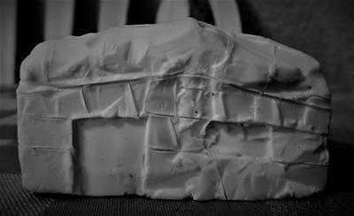 Soap Carving: Old Western Cabin by greengigal