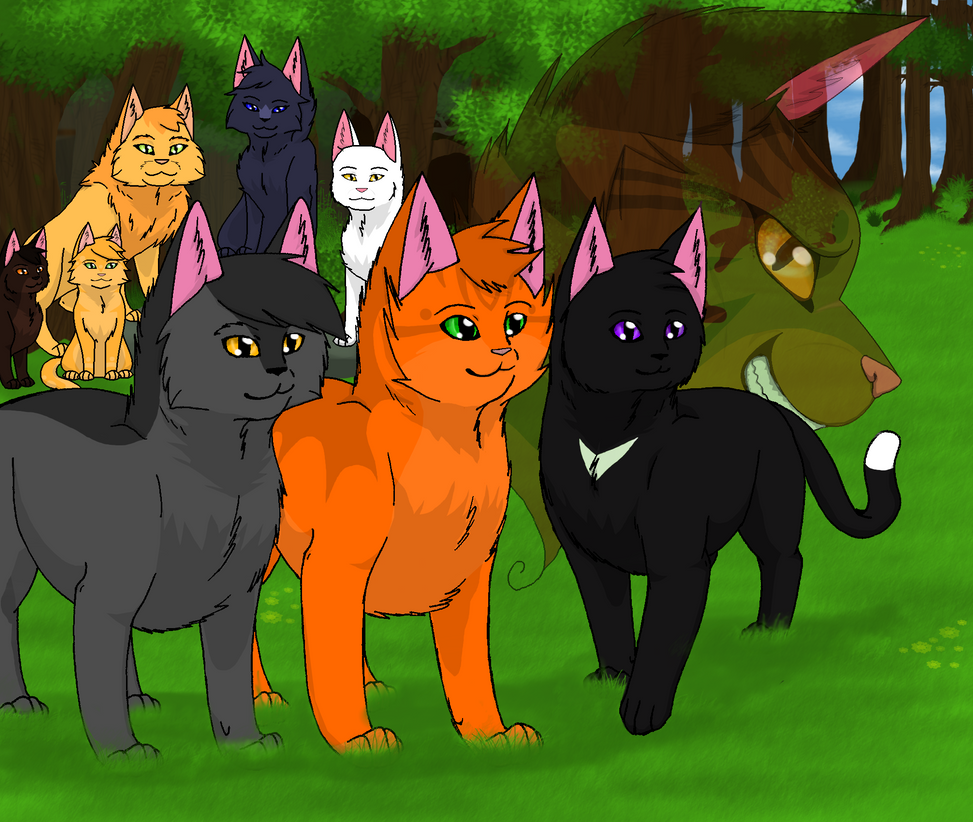 Into The Wild Graypaw Warriors: Warriors Into The Wild By AshuriiWolf On DeviantArt
