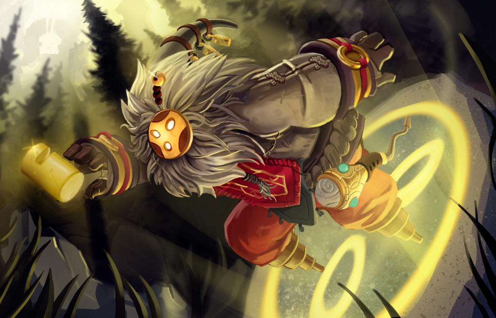 league of legends bard by trevor verges on deviantart
