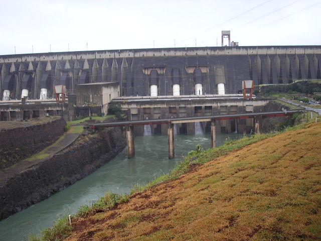 Iguazu Falls 24 - dam - by agosbeatle-stock