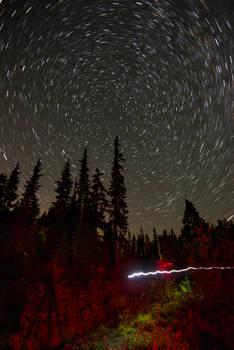 North at Night