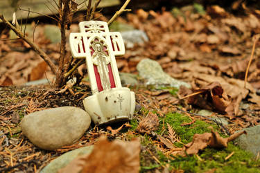 Small Effigy amongst the leaves