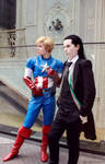 Loki and Steve - For Asgard and Freedom