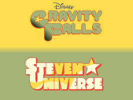 Gravity Falls Steven Universe Font Swap by The-Watcher5292