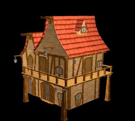 3D House Modeling By Ata Funerario ...