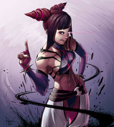 Juri - Super Street Fighter IV by RaphooN